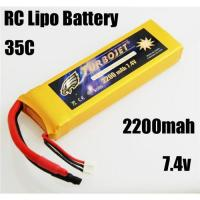 Quality 7.4v 2200mah RC Rechargeable lipo battery for RC helicopter,RC car,rc airplane for sale