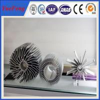 Buy cheap industrial al6063 t5 aluminum extrusion heatsink profiles cooling fin manufacturer from wholesalers