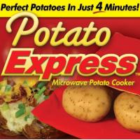 Quality Re-usable As Seen on TV Products , Potato Express Microwave Potato Baked Bag for sale