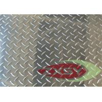 Quality Construction Silver Aluminum Tread Plate 5052 6061 In Diamond Pattern for sale