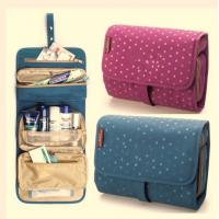 Quality Colorful Travel Travel Makeup Bag , Cosmetic Rolling  Travel Bags For Women for sale