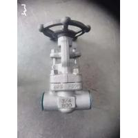 Quality SW BW NPT Forged Steel Gate Valve A105N F11 F304 F316L 3/4IN Oem Service for sale