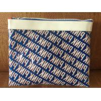 China Sewing Printing Polythene Gift Bags , Promotional Heat Seal PVC Cosmetic Bags on sale