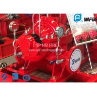 Quality UL FM Approved Horizontal Split Case Fire Pump 500GPM / 312 Feet NFPA20 Standard for sale