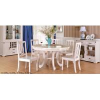 Quality Simple European Style Wood Dining Table Set / Dining Room Unit Uptake Plastic Technology for sale