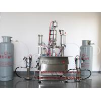 Quality R22 Refrigerant Freon Filling Machine , Pneumatic Aerosol Can Filling Equipment for sale