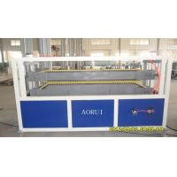 China PVC Decoration Pinch Plate Profile Extrusion Machinery , PVC Plastic Production Line on sale
