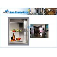 Quality 0.4m/s Dumbwaiter Elevator / Small Food Elevator with AC Driver for sale