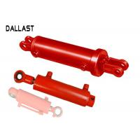 Quality Double Way Steel Custom Chromed Hydraulic Cylinder for Agricultrual Vehicles for sale