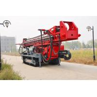Quality The maximum hole depth1500m  DTH RC Top Drive Rig Water Well Drilling Rig With Crawler Mounted for sale