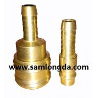 Quality German type quick coupler, air hose coupler, brass material with high pressure 15bar for sale