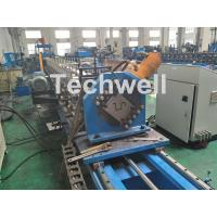 Quality Customized Cold Roll Forming Machine For Making Hat Section / Furring Channel for sale