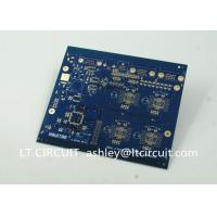 Buy Thick Gold Multilayer Printed Circuit Board Annual Ring Thermal Vias at wholesale prices