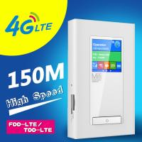 Quality power bank lte 4g router with dual sim card slots and RJ45port for sale