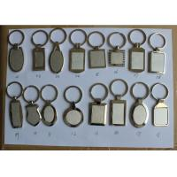 Quality OEM factory price Promotional Gifts cheap custom logo print blank key chain Wholesale.Metal coin for sale