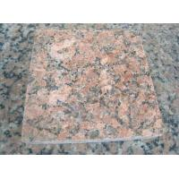 Quality Nature Red Granite Stone Tiles / Granite Tiles For Bathroom Floor for sale