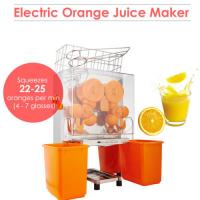 Quality High Output Industrial Orange Juicer Machine Lemon Squeezer With Auto Pulp Removal for sale