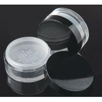 Quality 80gram  made in China cosmetic  jar with sifter for sale