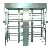 Double gate security full height turnstile
