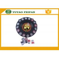 "Quality 32"" Roulette Wheel Casino Mini Lucky Roulette Wheel Poker Chips Sets With 16pcs Cups for sale"