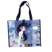 Quality Custom Laminated PP Woven Bags for Shoe , PP Woven Tote Bag for Shopping for sale