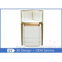 Buy cheap Custom Lighting Corner Store Jewelry Display Cases With Cabinet from wholesalers