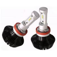 Quality High Power H8 H9 H11 LED Headlight 8 - 32V 25W 4000lm 360 degree Beam Angel for sale