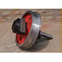 Quality train wheel mobile forged wheel on cranes for sale