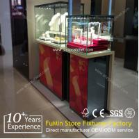 Quality Nice Looking glass jewelry display cabinet for shop for sale