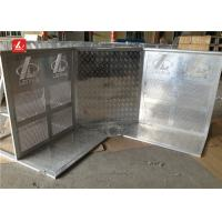 Quality Outdoor Performances Crowd Control Systems Silver Crowd Control Stands With Door for sale