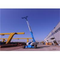 Quality Industrial Grade Telescoping Boom Lift , Crawler Boom Lift Easy Maintain Safe for sale