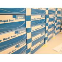 Quality Filariasis IgG/IgM Rapid Test Uncut Sheet for sale