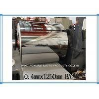Quality Cold Rolled Stainless Steel Sheet Coil BA Finish AISI Inter Paper Protection for sale