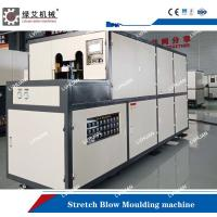 China Hand Feeding Stretch Blow Molding Machine For Plastic Bottles 4.2×1.75×2.0m for sale