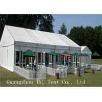 Quality A Shaped Marquee Party Tent Fire Resistant For Restaurant Catering Use for sale