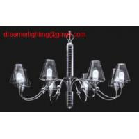Quality 6 lights High quality modern glass chandelier for sale