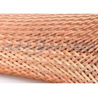 Quality High Density Weave Tinned Copper Braided Sleeving For Wire Assembly for sale