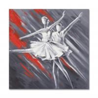 Quality Abstract Dancing Girls Paiting Artwork size in 60X60CM for sale