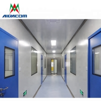 Quality 99.995% Dust Removal High Integrity GMP Cleanroom Project for sale