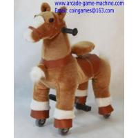 Quality Amusement Park Mechanical Children Animal Horse Kiddie Rides Toy for sale