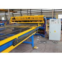 Buy 2.5m width full automatic Concrete Reinforcing Welded Wire Mesh Panel Machine with best price at wholesale prices