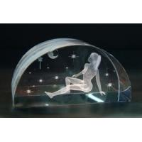 Buy cheap 3D Laser Engraved Crystal (STN-EC-001) from wholesalers