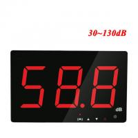 China Digital Sound level meter 30~130db large screen display Restaurant Bar Indoor/office/home Wall hanging type noise meter on sale