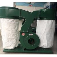 Quality MF9022 double bag portable cyclone woodworking bag dust collector manufacturer for sale