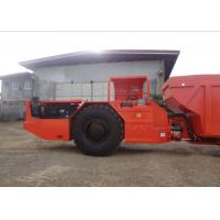 Quality Red RT-20 Low Profile Dump Trucks With DANA Axles CE Certificate for sale