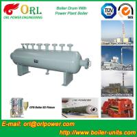 Quality Mining industry electrical water boiler mud drum ISO9001 for sale