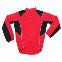Quality Cycling Jersey with Coolmax Fabric and EN471 Reflective Piping for sale