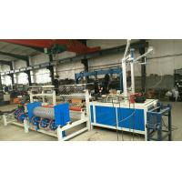 Buy 4 Width double wire feeding   Full Automatic PLC  Chain Link Fence Machine at wholesale prices
