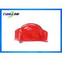 Quality Large Battery HD Camera 4G Wireless Device Intelligent Safety Helmet For Railway Mining for sale