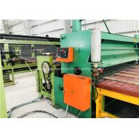 Buy cheap Green Gabion Wire Mesh Machine 5300mm Max. Netting Width For Slope Revetment from wholesalers